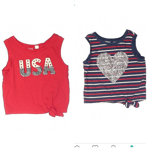 GAP Other - GAP Toddler Cropped 4th of July USA Tank Top 4-5